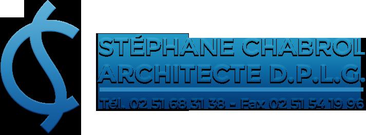 Stéphane Chabrol, architecte à Challans (Vendée, 85)
