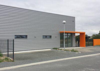 Local Relais Chateauneuf - Bâtiment industriel - Architecte Stéphane Chabrol