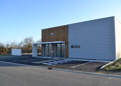 Local Relais Froidfond - Bâtiment industriel - Architecte Stéphane Chabrol