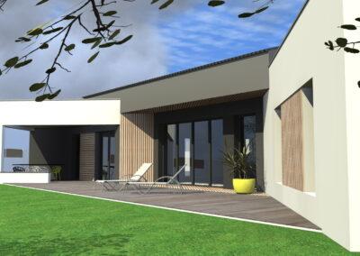 Maison BV Challans - Maison neuve - Architecte Stéphane Chabrol