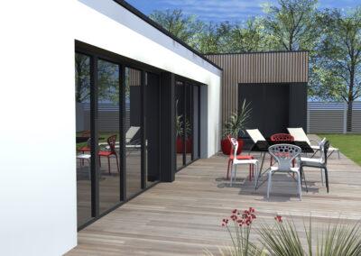 Maison CB St Gervais - Maison neuve - Architecte Stéphane Chabrol