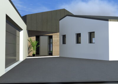 Maison AP St Philbert - Maison neuve - Architecte Stéphane Chabrol
